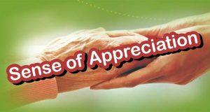 معنی عبارت Sense of Appreciation